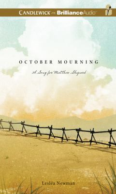 October Mourning: A Song for Matthew Shepard 9781469206219