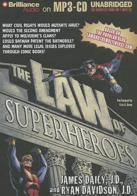 The Law of Superheroes 9781469214597