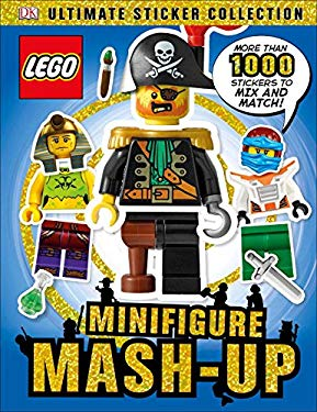 Ultimate Sticker Collection: LEGO Minifigure: Mash-up! (DK Ultimate Sticker Collections)
