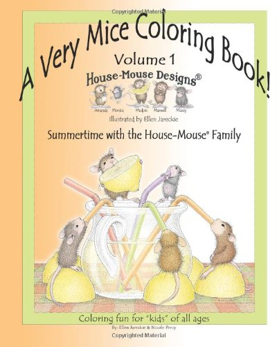 A Very Mice Coloring Book - Volume 1