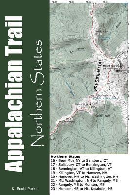 Appalachian Trail Pocket Maps - Northern States 9781477431740