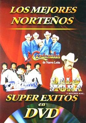 DVD Super Exitos En DVD - Nort