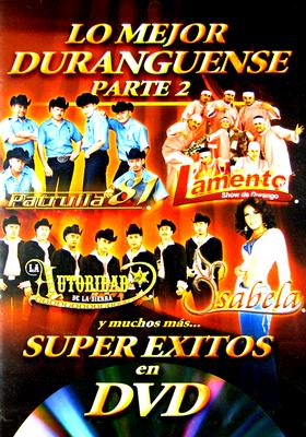 DVD-Super Exitos En-Durangue 2
