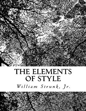 The Elements of Style 9781470057718