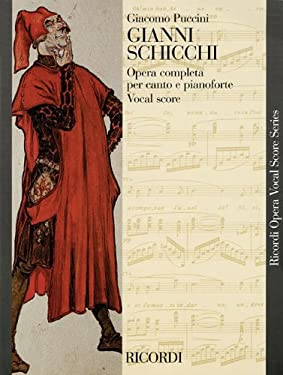 Gianni Schicchi Vocal Score (English/Italian) - new art cover