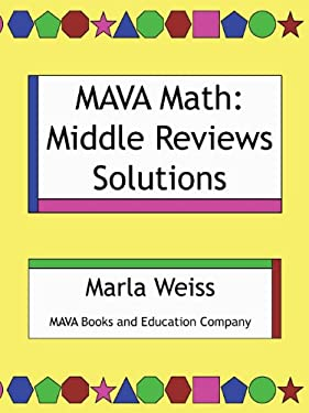 Mava Math: Middle Reviews Solutions
