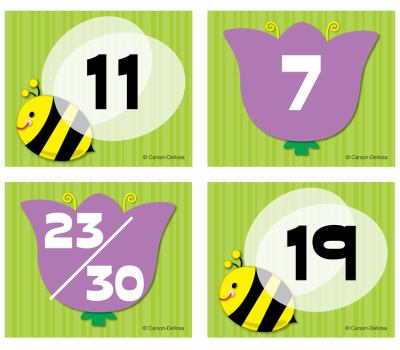 Bee/Flower Calendar Cover-Up