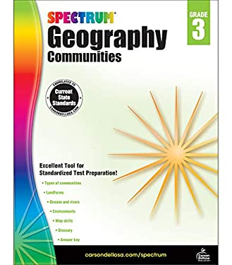 Spectrum Geography, Grade 3: Communities