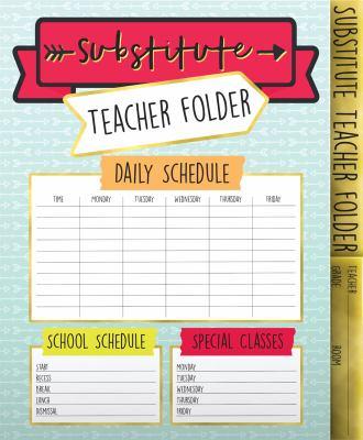 Carson Dellosa Aim High Substitute Teacher Folder (136020)