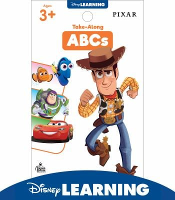 Disney Learning  Take-Along Tablet: ABCs, Pixar Characters, Ages 3+, 64 Pages (My Take-Along Tablet)