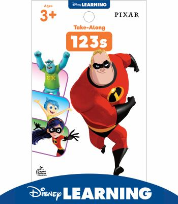 Disney Learning  Take-Along Tablet: 123s, Pixar Characters, Ages 3+, 64 Pages (My Take-Along Tablet)