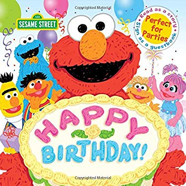Happy Birthday!: A Birthday Party Book (Sesame Street Scribbles)