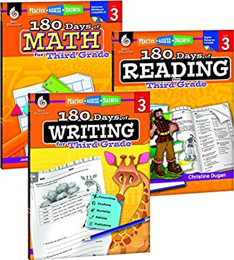 180 Days of Reading, Writing and Math for Third Grade