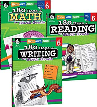 180 Days of Reading, Writing and Math for Sixth Grade