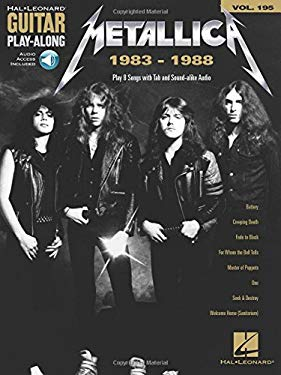Metallica: 1983-1988: Guitar Play-Along Volume 195 Bk/Online Audio