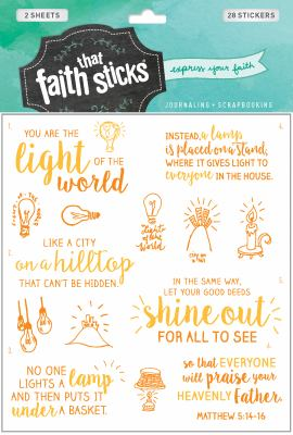 Matthew 5:14-16 (Faith That Sticks Stickers)