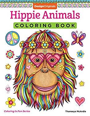 Hippie Animals Coloring Book (Coloring Is Fun) (Design Originals)