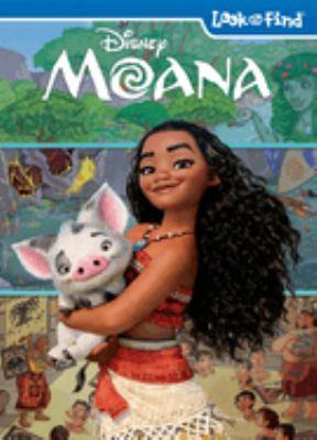 Disney Moana Look and Find Book Hardcover (PiKids Media) Phoenix International - ISBN 9781503707900