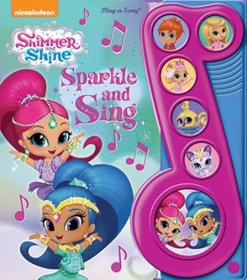 Nickelodeon - Shimmer and Shine - Sparkle and Sing Sound Book - Play-a-Song - PI Kids