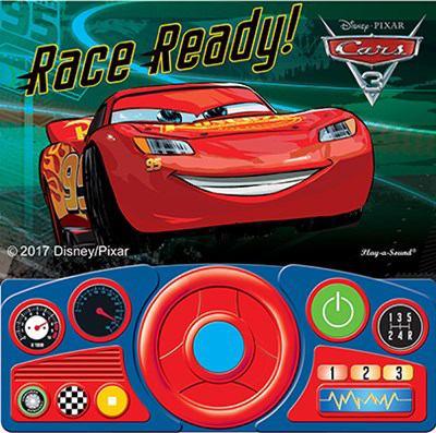 Cars 3 Steering Wheel Sound Book Lightning McQueen 9781503724235