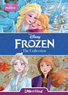 Disney - Frozen Look and Find Collection - Includes Scenes from Frozen 2 and Frozen - PI Kids