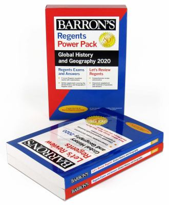 Regents Global History and Geography Power Pack 2020 (Barron's Regents NY)