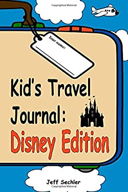 Kid's Travel Journal - Disney Edition