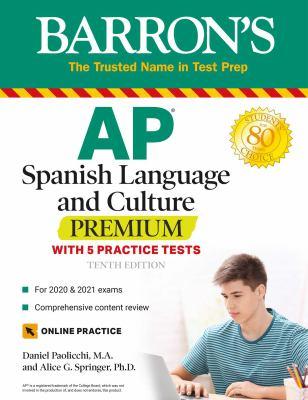 AP Spanish Language and Culture Premium (Barron's Test Prep)