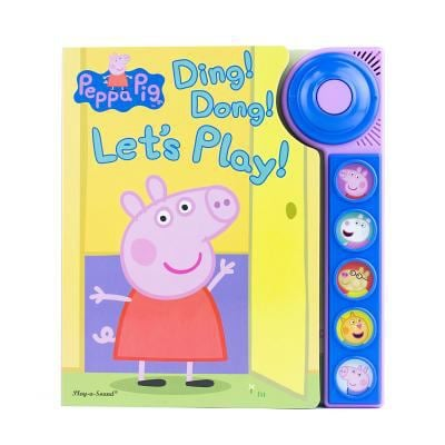 Peppa Pig Ding! Dong! Let's Play! Board Book 9781503721579