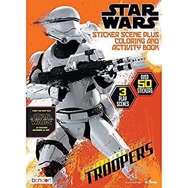 ISBN 9781505003017 product image for Star Wars 7 Sticker Scene | upcitemdb.com