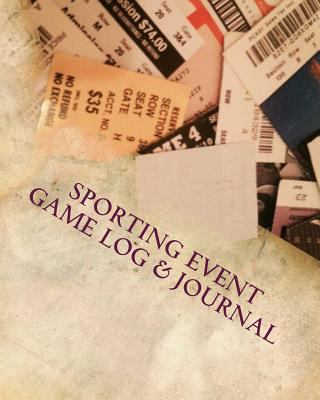 Sporting Event Game Log & Journal