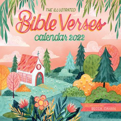 The Illustrated Bible Verses Wall Calendar 2022
