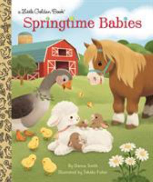 Springtime Babies (Little Golden Book)