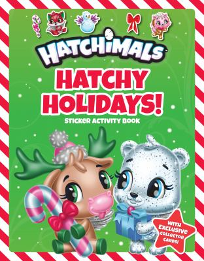 Hatchy Holidays!: Sticker Activity Book (Hatchimals)