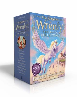 The Kingdom of Wrenly Ten-Book Collection: The Lost Stone; The Scarlet Dragon; Sea Monster!; The Witch's Curse; Adventures in Flatfrost; Beneath the .