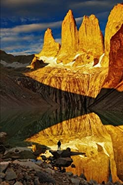 Torres del Paine at Sunrise Patagonia Chile Journal: 150 page lined notebook/diary