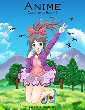Anime Coloring Book 2 (Volume 2)