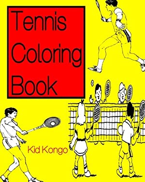 Tennis Coloring Book