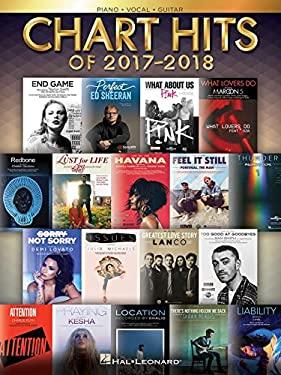 Chart Hits of 2017-2018 Piano/Vocal/Guitar (Chart Hits Of (Year))