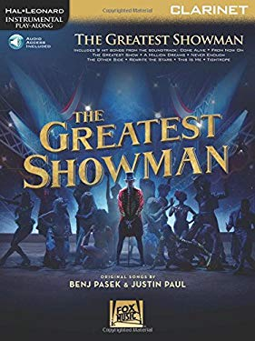 The Greatest Showman: Instrumental Play-Along Series for Clarinet Bk/Online Audio