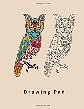 Drawing Pad: Blank pages, Extra large (8.5 x 11) inches, 110 pages, White paper, Sketch, Draw and Paint