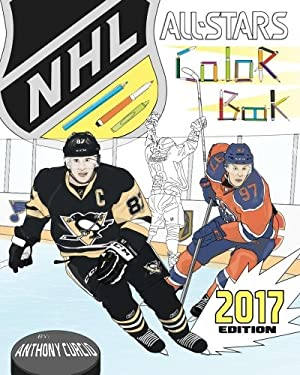 NHL All Stars 2017: Hockey Coloring and Activity Book for Adults and Kids