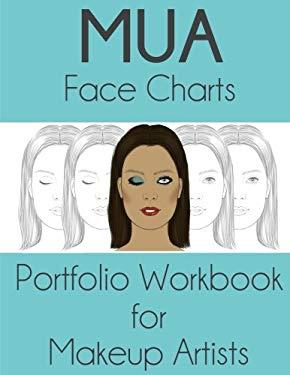 MUA Face Charts Portfolio Workbook for Makeup Artists: Sigga Version