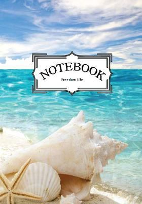 """Notebook : seashells and starfishes VoL.5: Notebook Journal Diary, 120 Lined pages, 7"""" x 10"""""""