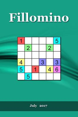 Fillomino: July   2017 (Fillomino   2017) (Volume 7)