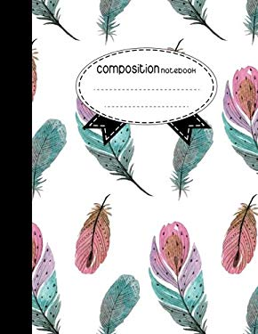 Composition Notebook, 8.5 x 11, 110 pages : Boho Style: (School Notebooks)