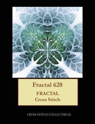 Fractal 620: Fractal cross stitch pattern