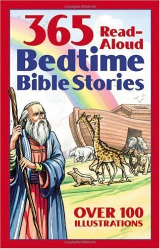 365 Read-Aloud Bedtime Bible Stories 9781557482648