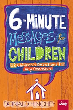 6-Minute Messages for Children 9781559451703
