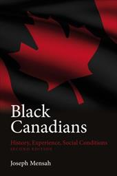 Black Canadians: History, Experience, Social Conditions 6846670